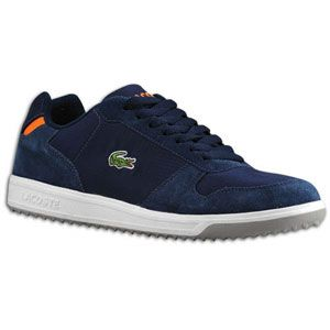 Lacoste Jenson EO   Mens   Casual   Shoes   Dark Blue/Orange