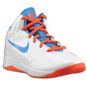 Nike KD V   Boys Preschool   Basketball   Shoes   White/Team Orange