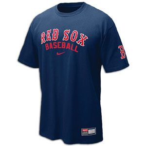 Nike Practice T Shirt 11   Mens   Baseball   Fan Gear   Red Sox