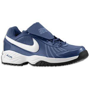 Nike Air Diamond Trainer   Mens   Baseball   Shoes   Pro Blue/White