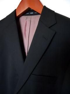 Hugo Boss Black Pasolini Movie Super 100 Wool Suit 40s New