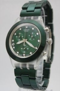 Swatch Irony Chrono Full Blooded Green Watch SVCK4043AG
