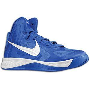 Nike Hyperfuse   Mens   Basketball   Shoes   Game Royal/White