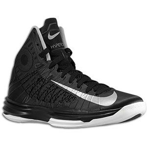 Nike Hyperdunk   Mens   Basketball   Shoes   Black/Metallic Silver