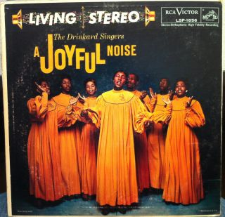 The Drinkard Singers A Joyful Noise LP VG LSP 1856 Vinyl 1958 Record