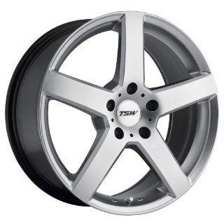17x8 TSW Rivage (Hyper Silver) Wheels/Rims 5x114.3 (1780RIV405114S76