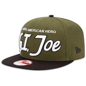 New Era Hero eam Scrip 9Fify Snapback Cap   Mens   Green/Black