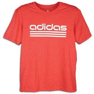 adidas Forever T Shirt   Mens   Training   Clothing   Light Scarlet