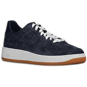 Nike Air Force 1 Low   Mens   Basketball   Shoes   Obsidian/Obsidian