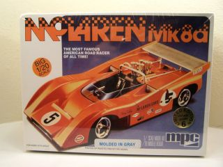 1970 McLaren Hulme Can Am Racer Mk8d ERTL Limited Edition Model Kit 1