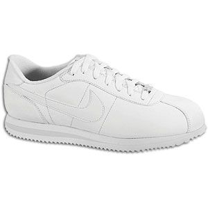 Nike Cortez   Mens   Running   Shoes   White/White/Light Zen Grey