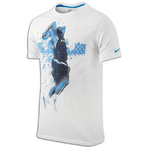 Nike Lebron Data Sport T Shirt   Mens   Basketball   Clothing   White