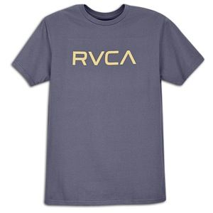 RVCA Big RVCA T Shirt   Mens   Skate   Clothing   White