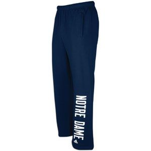 adidas College One Way Fleece Pant   Mens   Notre Dame Fighting Irish