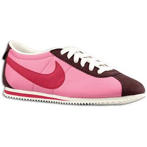Nike Lady Cortez Nylon   Womens   Running   Shoes   Pink Cooler/Red