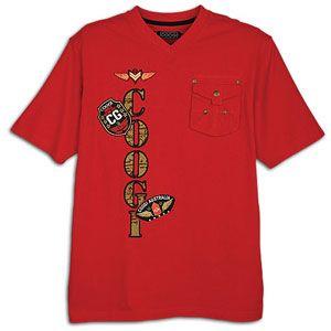 Coogi Military Pocket Short Sleeve T Shirt   Mens   Casual   Clothing