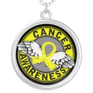 Awareness 14 Bladder Cancer Custom Necklace