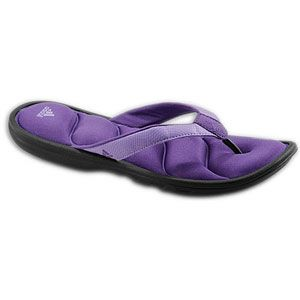 adidas Chilwyanda Fitfoam Slide   Womens   Black/Power Purple/Sharp