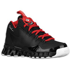 Reebok Wall 3   Boys Preschool   Basketball   Shoes   Black/White/Red