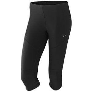 Nike Tech Capri   Womens   Running   Clothing   Black/Reflective