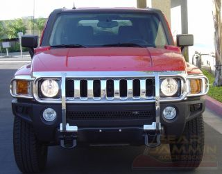 Brand New Hummer H3 Chrome Finish Grill Guard