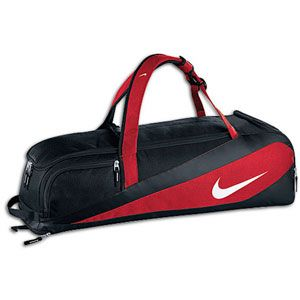 Nike Vapor Bat Bag   Baseball   Sport Equipment   Red/Black/Sliver