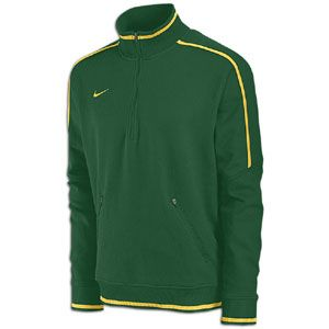 Nike Conference Quarter Zip Fleece Top   Mens   Dark Green/Bright