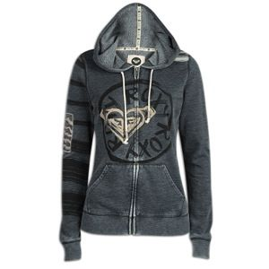 Roxy Womens Pine Cliffs Full Zip Hoodie   Womens   Casual   Clothing