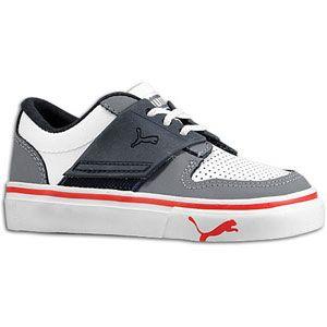 PUMA El Ace 2   Boys Toddler   Basketball   Shoes   White/Steel Grey
