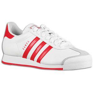 adidas Originals Samoa   Mens   Soccer   Shoes   White/University Red