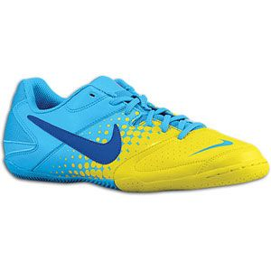 Nike Nike5 Elastico   Mens   Soccer   Shoes   Blue Glow/Chrome Yellow