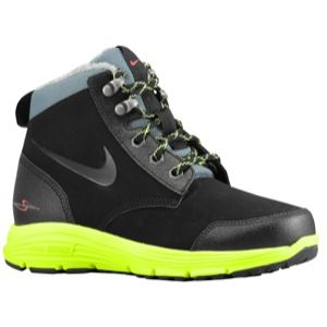 Nike ACG Dual Fusion Jack Boot   Boys Grade School   Black/Volt/Hasta
