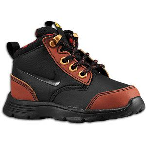 Nike ACG Dual Fusion Jack Boot   Boys Toddler   Black/Henna/Gym Red