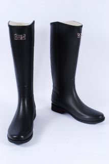 Hunter Cece Logo Riding Boot Rain Boots Women Shoes 10