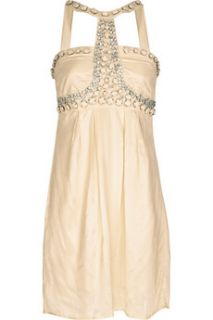 Paul & Joe Sister Christal beaded satin weave dress