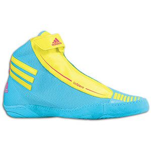 adidas adiZero Sydney   Mens   Wrestling   Shoes   Super Cyan/Lemon