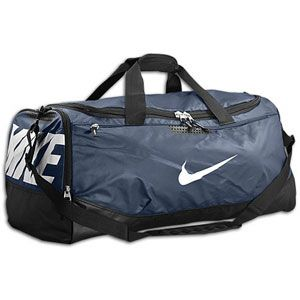 Nike Team Training Max Air Large Duffle   Midnight Navy/Black/White