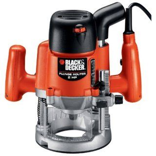 Black & Decker RP400K 2 Horsepower EVS Plunge Router Kit