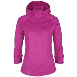 Nike Soft Hand Hoodie   Womens   Running   Clothing   Vivid Grape
