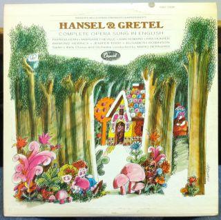 Mario Bernardi Humperdinck Hansel Gretel 2 LP VG GBO 7256 Vinyl 1966