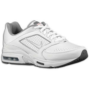 Nike Air Max Healthwalker+ 8   Womens   White/Metallic Silver/Dark