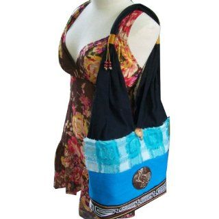 Cotton Hippie Hobo Shoulder Bag Purse Tote Shoulder Handmade / SB_1040