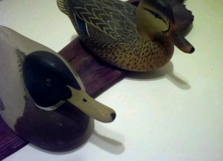 Vintage Duck Decoys Hunting Fishing Oliver Lawson