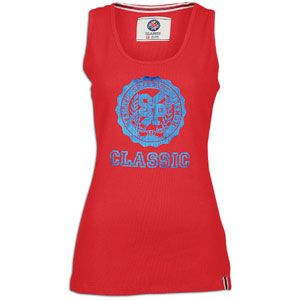 Southpole Plus Size Logo Rib Tank   Womens   Casual   Clothing   Red