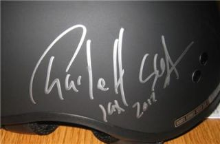 Charlie Hunnam Signed Motorcycle Helmet Exact Proof Sons of Anarchy