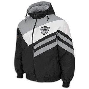 Mitchell & Ness NFL Weakside Jacket   Mens   Oakland Raiders   Black