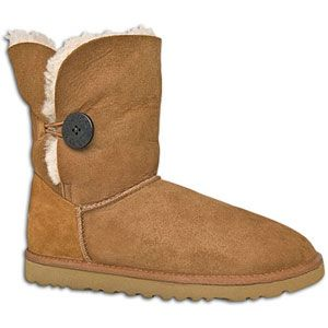 UGG Bailey Button   Womens   Casual   Shoes   Chestnut