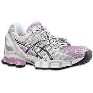 ASICS® Gel   Kinsei 4   Womens   Running   Shoes   Lilac/Black/White