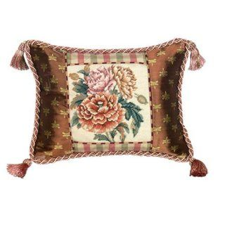 123 Creations C420.12x16 inch Peony Petit Point Pillow