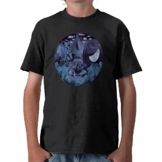 GIRL AND THE DARK FAIRY TALE T SHIRT